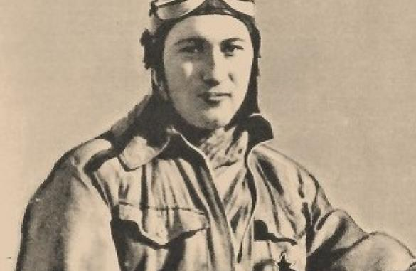 Foto Xavier Henrard, Belgische piloot neergeschoten door een duits vliegtuig voor de start van de 2de WO.
